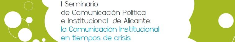 I Seminario Comunicación Politica Alicante