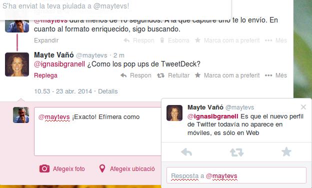 pop ups nuevo twitter @ignasibgranell