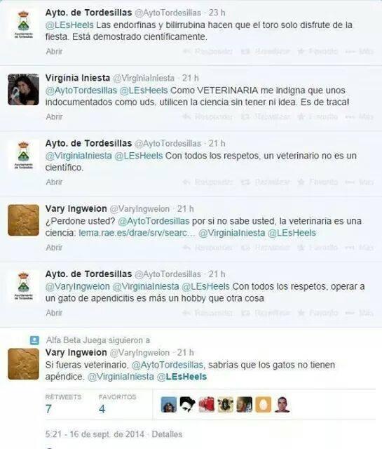 Cuanta fake AytoTordesillas