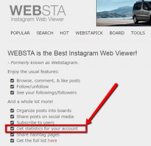 Websta aplicacion estadisticas instagram