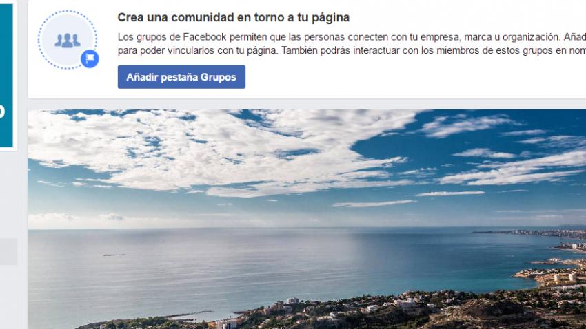 Añadir Pestaña Grupos Facebook en Páginas
